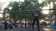 RAW VIDEO: Lucha Libre wrestlers battle in Brawley