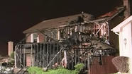 A firefighter in south suburban Homewood was injured while battling a house fire overnight.