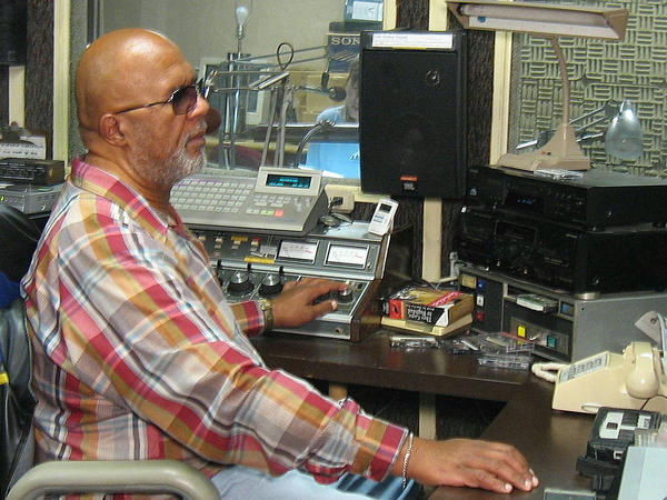 Robert A. Lewis serves as executive director of the Radio Reading Network of Maryland, located at the Maryland School for the Blind.