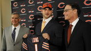 Three linebackers, two offensive linemen and a wide receiver walk into Halas Hall … hoping to change the course of football history in Chicago.