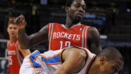 A ball boy for the Oklahoma City Thunder is being investigated for making an alleged death threat to Houston Rockets player Patrick Beverley, according to Oklahoma City police.