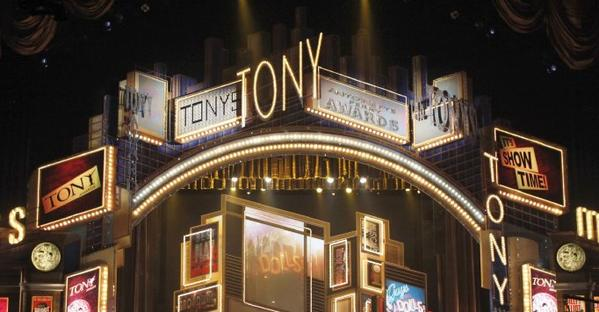 The Tony Awards will be returning to Radio City Music Hall in Rockefeller Center after two years at the Beacon Theatre on Manhattan's Upper West Side. Above, the 2009 Tony Awards show at Radio City.