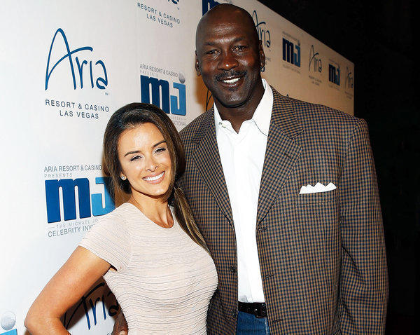 Michael Jordan and Yvette Prieto arrive at the 12th Annual Michael Jordan Celebrity Invitational Gala on April 5.