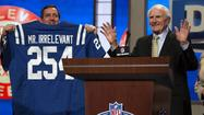 """Mr. Irrelevant,"" the nickname given to the final pick in the NFL draft, is Justice Cunningham, a tight end from South Carolina who was selected by the Indianapolis Colts with the 254th choice on Saturday."