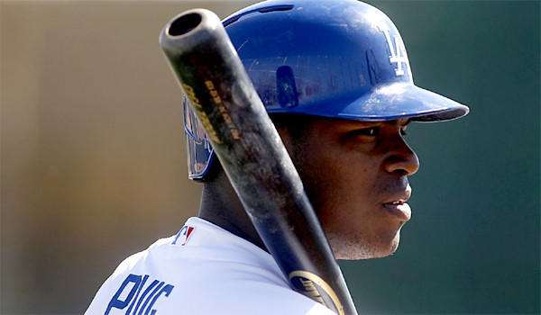 Yasiel Puig was batting .333 with double-A Chattanooga when he went on the disabled list eight days ago.