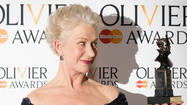 "Helen Mirren, who won an Oscar for playing Queen Elizabeth in the film ""The Queen,"" captured another accolade — a Laurence Olivier Award, the U.K.'s highest stage honor — for her latest portrayal of the monarch in ""The Audience."""