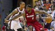 The regular season was about the Miami Heat taking care of business early so they could relax before the start of the playoffs.