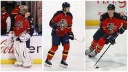 Young Florida Panthers such as, from left, Jacob Markstrom, Jonathan Huberdeau and Nick Bjugstad, learned early on that the NHL makes kids grow up quickly. (File)