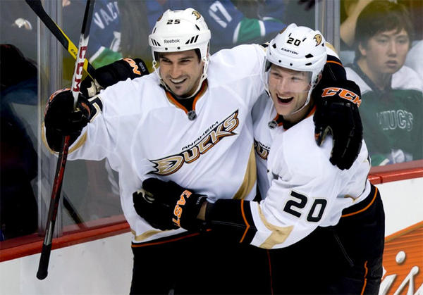 The Anaheim Ducks had to fight through a lull to hold the No. 2 seeding.