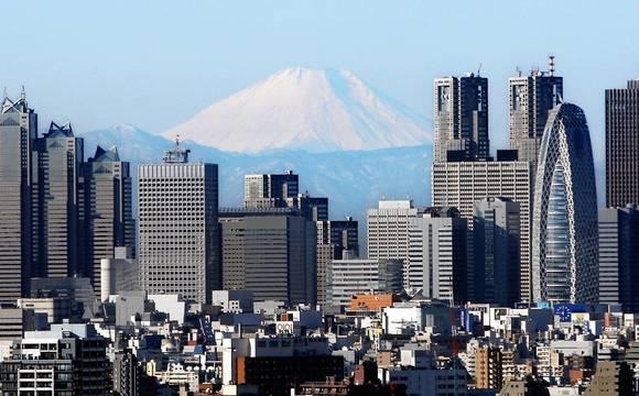 Tokyo's Shinjuku area