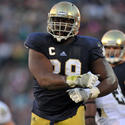 Notre Dame defensive end Kapron Lewis-Moore (6th round)