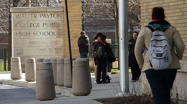Walter Payton College Preparatory High School's baseball coach told several media outlets that some parents didn't want to travel to Roseland due to safety concerns.