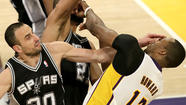 <strong>Spurs 103, Lakers 82 (final)</strong>