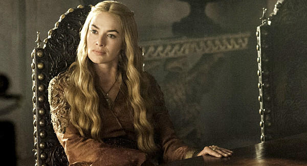 "Queen Cersei (Lena Headey) isn't happy about being forced to remarry in ""Game of Thrones"" Episode 25, ""Kissed By Fire."""