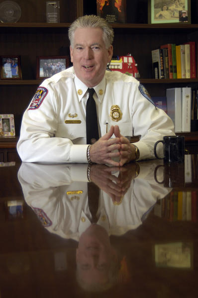 John Robert Ray, Fire Chief of Anne Arundel County