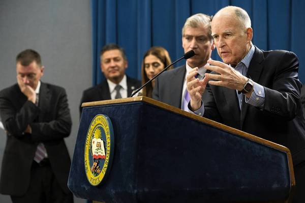 """This is a matter of equity and civil rights,"" Gov. Jerry Brown told reporters last week about his plan for school funds. ""The question is, do we want to try to take care of the biggest challenge facing California, and that's the two-tier society?"""
