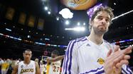 Lakers' Pau Gasol is steady as he goes ... away?