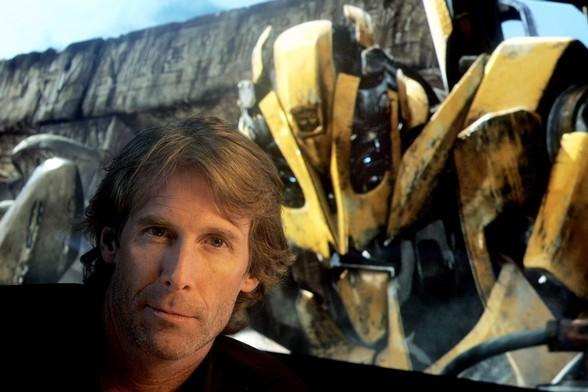 "Michael Bay in ""Transformers"" mode."