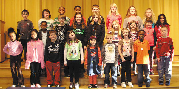 Rockland Woods Elementary School named its Citizens of the Month for March. Front row, from left, Chrissy Cooper, Breeze Hernandez, Carson Coulter, Tayler Chaney, Sofia Soto, Ethen Corley, Chelsea Wingo, Donovan Vaval and Lane Baker. Second row, Jason Lee, Austin Livecchi, Victoria ONeill, Kayla Seabolt, Corrin Line, Erykah Damico, Madalyn Crocker and Alyssa Caballero. Back row, Noah Livingston, Charlotte Klein, Salim Mkamba, Jaden Charleus, Gavin Crown, Emma Wade, Madison Kifer and Rachel West.