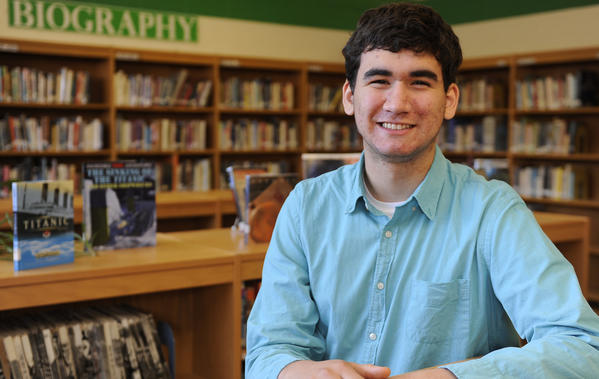 Christian Hodges, of Odenton,is a junior at Arundel High School who has been appointed as the student member to the Maryland State Board of Education. His term starts in July.