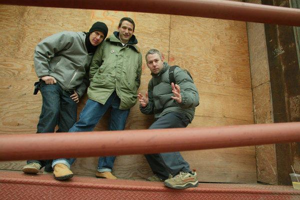 The Beastie Boys in 2003, from left: Mike Diamond, Adam Horovitz and Adam Yauch.