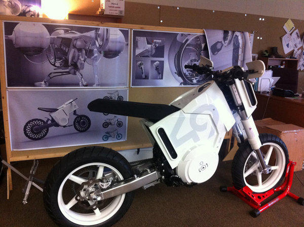 "Glendale's Glory Motor Works designed the futuristic motorcycle ridden by Tom Cruise's character in the new movie ""Oblivion."""