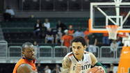 CORAL GABLES — Fighting back tears, Shane Larkin made it official. He's NBA bound after two Miami seasons, but the decision was far from easy.