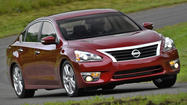 Nissan will recall more than 123,000 new Altima sedans after a spare tire blew out -- while locked away in the trunk of a car.