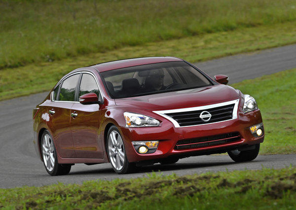 Nissan will recall the Altima sedan because the spare tire can blow out while locked in the trunk.
