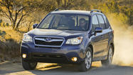 Subaru anno<strong></strong>unced that it is recalling more than 10,000 of its 2014 Forester models to correct an issue with the floor mats.