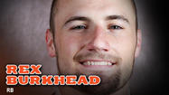 Rex Burkhead received the call of a lifetime over the weekend.
