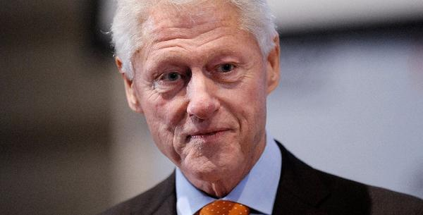 Former President Clinton, shown earlier this year, released a statement of support on Monday for athlete Jason Collins, who has come out as gay.