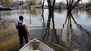 The Illinois Emergency Management Agency begins assessing local flood damage today, a process that could lead to small interest loans and federal grants for affected residents.