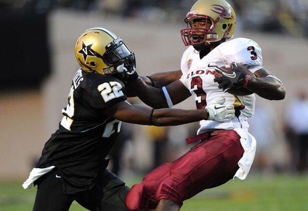 The Ravens drafted Elon wide receiver Aaron Mellette with one of two picks in the seventh round.