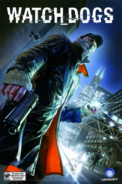 "Chicago artist Alex Ross did the box art for Ubisoft's ""Watch Dogs"" video game."