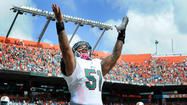 "Dolphins center Mike Pouncey, who attended Florida, was so excited general manager Jeff Ireland drafted three Gators on Saturday's final day of the draft he sent out a tweet that read, ""I will be handing out gator shirts to all my teammates this coming up week lol"""