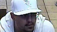 Man wanted in connection with bank robbery in suburban Norridge.