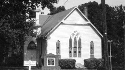 Historic black church rises from the Yorktown contraband camp