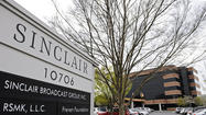 Hunt Valley-based Sinclair Broadcast Group Inc. reported a 42 percent drop in profit for the first quarter, as operating and interest costs rose and revenue increased but fell short of analysts' expectations.