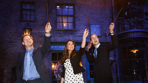 Harry Potter and the royals' studio visit