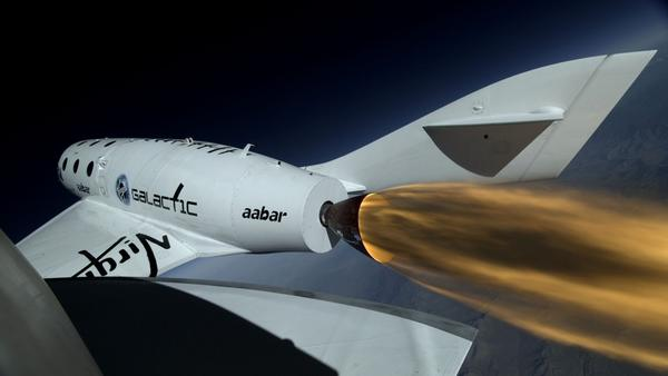 Virgin Galactic cracks sound barrier - Virgin Galactic cracks sound barrier