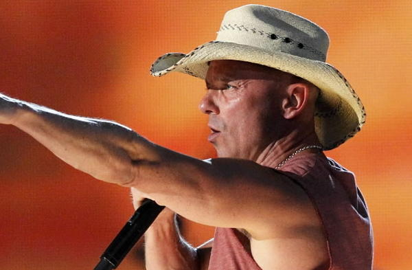 "Kenny Chesney performs ""Pirate Flag"" at the 48th ACM Awards in Las Vegas earlier this year."