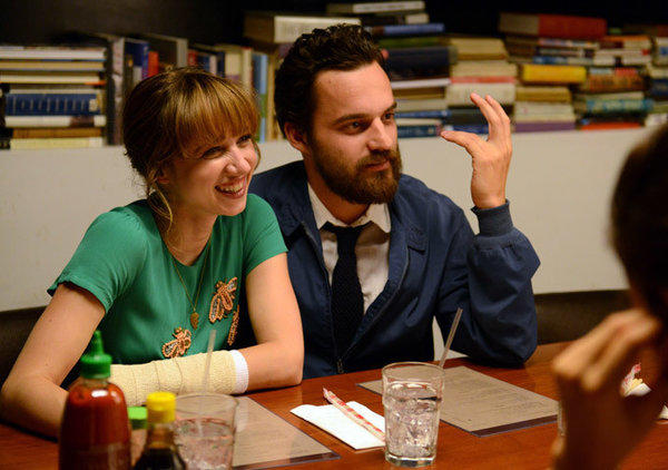 "Zoe Kazan and Jake Johnson star in ""The Pretty One,"" a Tribeca Film festival offering that could win new fans farther on down the line."