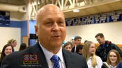 Cal Ripken Jr. helps dedicate Mount de Sales turf field [WJZ Video]