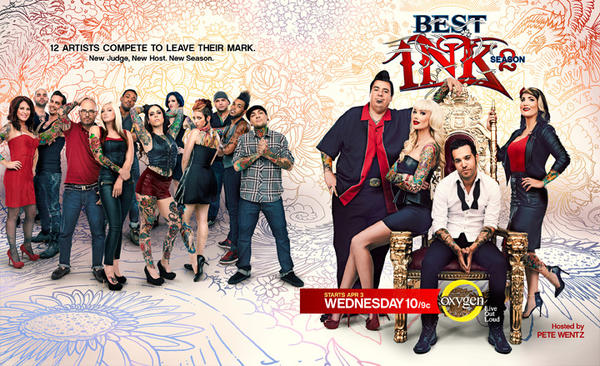 "Season 2 of ""Best Ink"" currently airs at 9 p.m. Wednesdays on Oxygen."