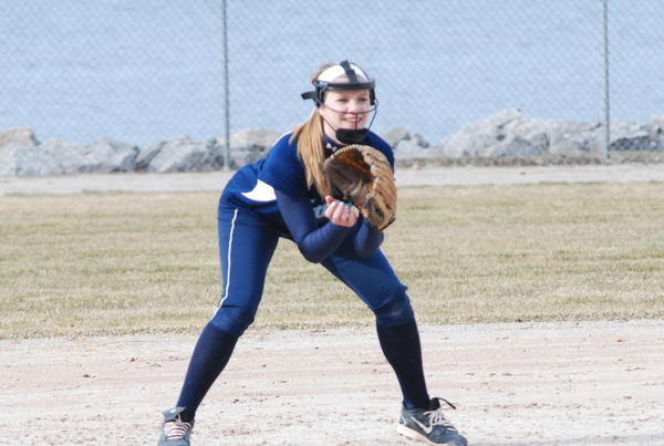 Petoskey freshman shortstop Makenna Smith hit a pair of home runs and finished 6-for-10 Saturday for the Northmen at the Bay City Western Invitational.