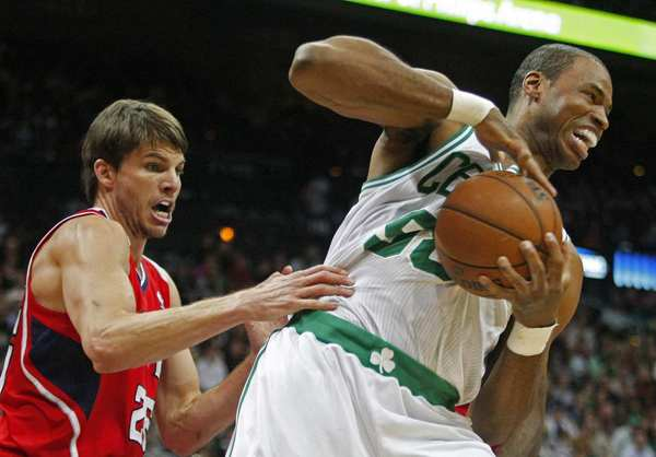Jason Collins, back in his Celtics days.