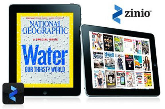 Zinio is a free online magazine service to which the library is subscribing for Washington County residents. Anyone with a library card can access the service free of charge.