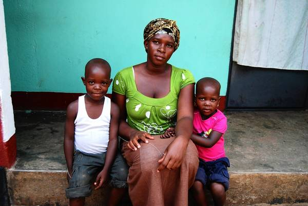 In Kasana, Uganda, Joyce Birabwa is using her share of the compensation for her husband's death to generate rental income to support her children, ages 3 and 5.