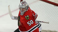Corey Crawford heard the talk. He heard some fans and media members saying the only thing that could hold the Blackhawks back this season was his goaltending.
